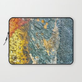 Colorful Abstract Texture Laptop Sleeve