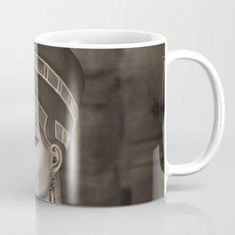 Nefertiti - the Egyptian Queen - sepia Coffee Mug