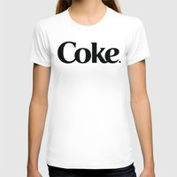 coke T-shirts featuring Do Coke by Startled Artist