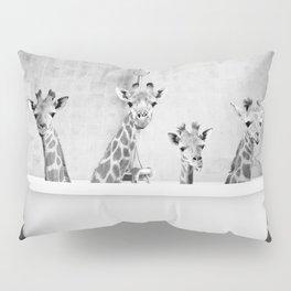 Four Giraffes in a Bath Pillow Sham