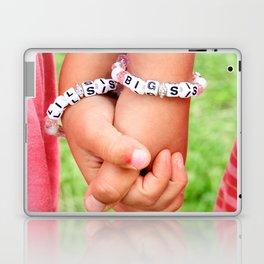 Big Sis & Lil Sis Holding Hands Laptop & iPad Skin