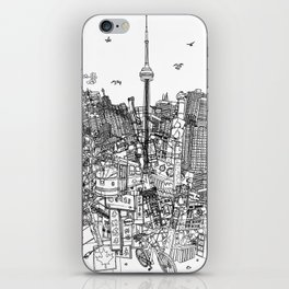 Toronto! (version #2) iPhone Skin