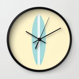 #91 Surfboard Wall Clock