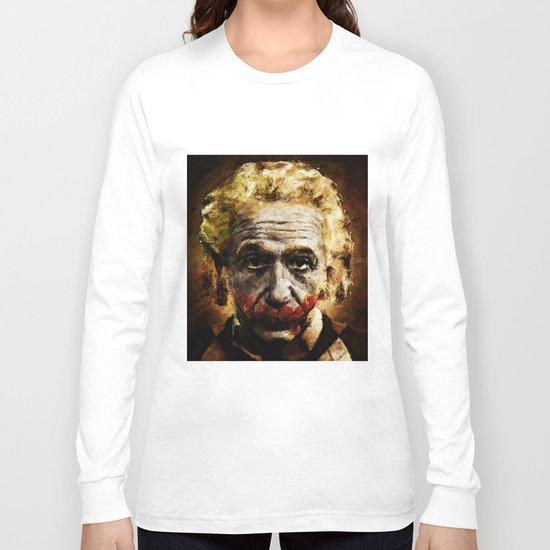 Einstein The Joker (Relatively Funny) Long Sleeve T-shirt