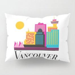 Vancouver Coal Harbour Pillow Sham