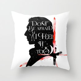 kylo - sabre Throw Pillow
