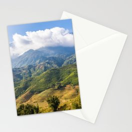 Mountains Nature Landscape Stationery Cards