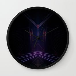 Long lights  Wall Clock