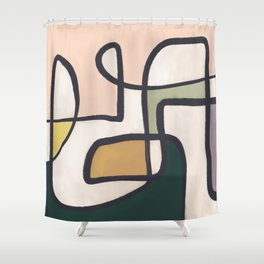 Friday | Playful Shower Curtain