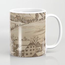 Little village in the Mountains of Austria Coffee Mug