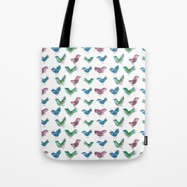 Color Birds Tote Bag