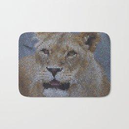 Mosaic Animal - Lion Bath Mat