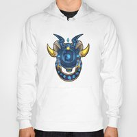 warcraft Hoodies featuring Blue Dragonflight Crest by Fallingstardusk