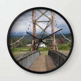 Tolt McDonald Bridge Wall Clock