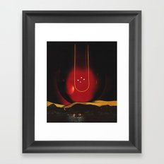 in the swing (impact) Framed Art Print