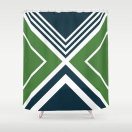 Nautical geometry 4 Shower Curtain