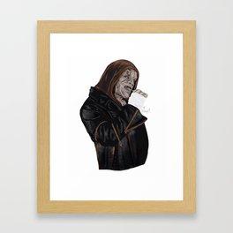 Killercroc  Framed Art Print