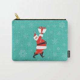 Mid-Century Modern Santa Carry-All Pouch