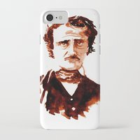 poe iPhone & iPod Cases featuring Poe by Doug Slack