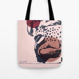 sketch#2-burgundy nude Tote Bag
