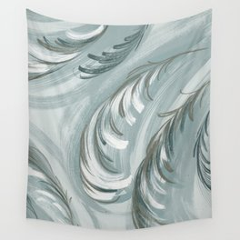 swirling feathers Wall Tapestry
