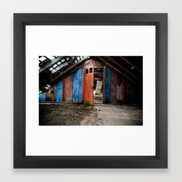Attic Framed Art Print