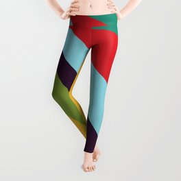 Bright Rays of Light - Circus Tent - Pride Beams - 57 Montgomery Ave Leggings