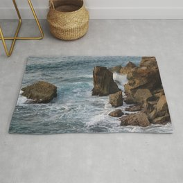 Rocks and Water Rug