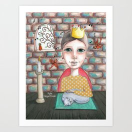 Life is Perfect by Kylie Fowler Art Print