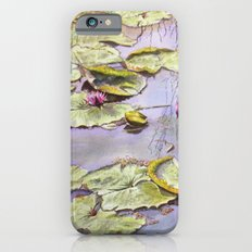 Reflection, watercolor iPhone 6s Slim Case
