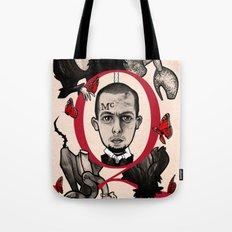 GOD SAVE ALEXANDER MCQUEEN Tote Bag