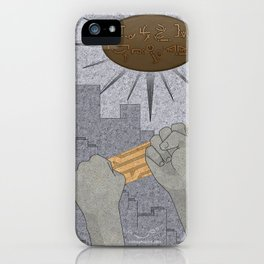 All Barriers Crumble and Fall - (Artifact Series) iPhone Case