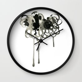 Thought Cloud Wall Clock