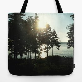 maine pines Tote Bag