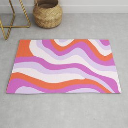 Cosmico, psychedelic waves Rug