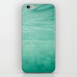 Aquatic Mosaic iPhone Skin