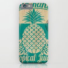 Hala Kahiki Juice Stand wooden board. iPhone 6s Slim Case