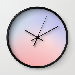 #d6d5eb Wall Clock