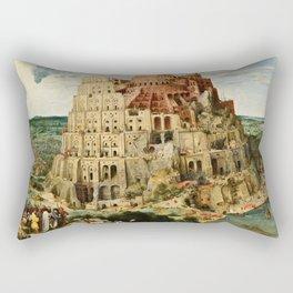 Pieter Bruegel The Elder - Babylon. Rectangular Pillow