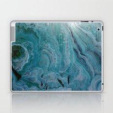 Blue stalactite Laptop & iPad Skin