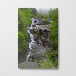 The Silver Cascade in the Morning Metal Print