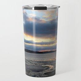 Perfect Sunset over Half Moon Cove Travel Mug