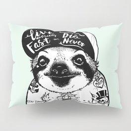 Sloth Tattooed Pillow Sham