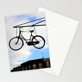 Suspended Bike Stationery Cards