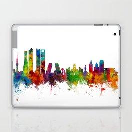 Madrid Spain Skyline Laptop & iPad Skin