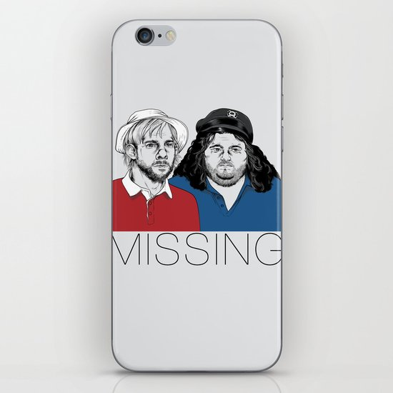 Missing iPhone & iPod Skin