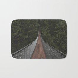 Vancouver Suspension Bridge Bath Mat