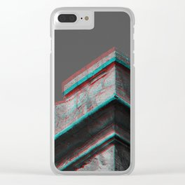 Shaken Castle Clear iPhone Case