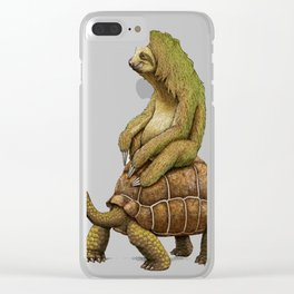 Speed-is-Relative Clear iPhone Case