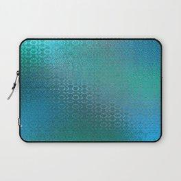 Trinity Pattern (ocean blues) Laptop Sleeve